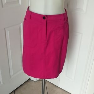 Etcetera size 2 pink pencil skirt.